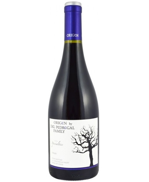 Origen by Del Pedregal Family, Syrah, Reserva Specialties, 2015